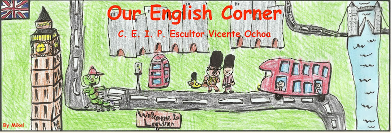 English Corner Blogue de inglés do CEIP Escultor Vicente Ochoa