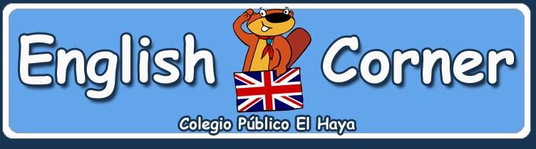 English Corner Blogue de inglés do Colexio Público La Haya