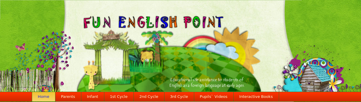 Fun English Point Blogue de inglés do CEIP La Goleta