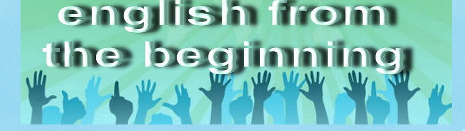English from the Beginning Inglés dende o principio